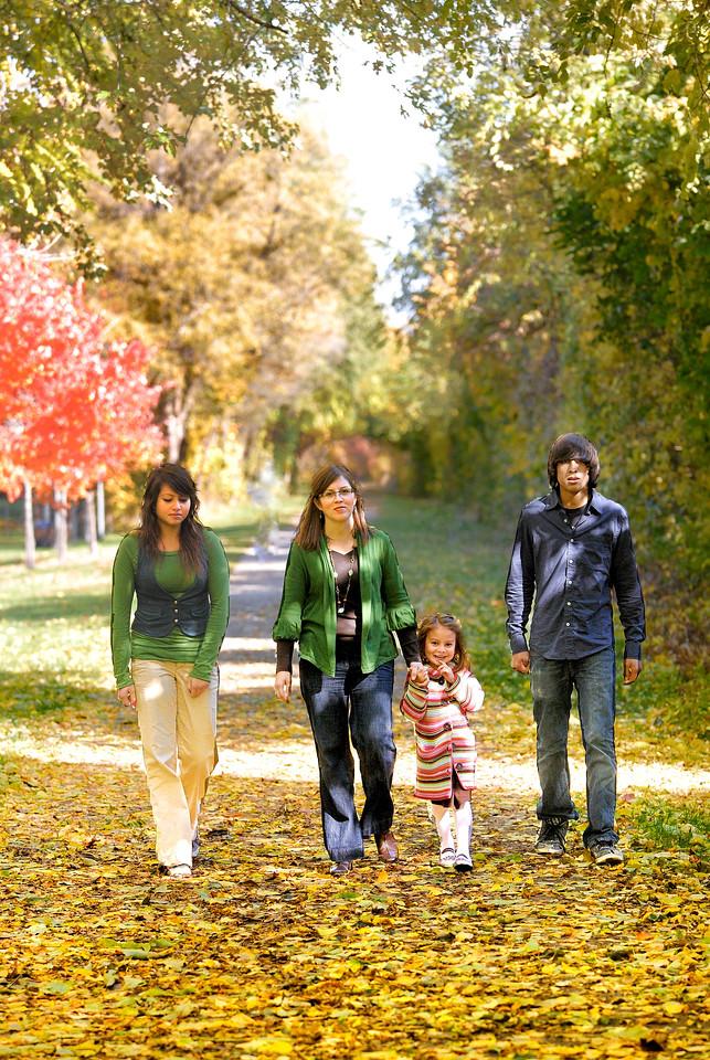 10/25/09 Family pics at Depot Park