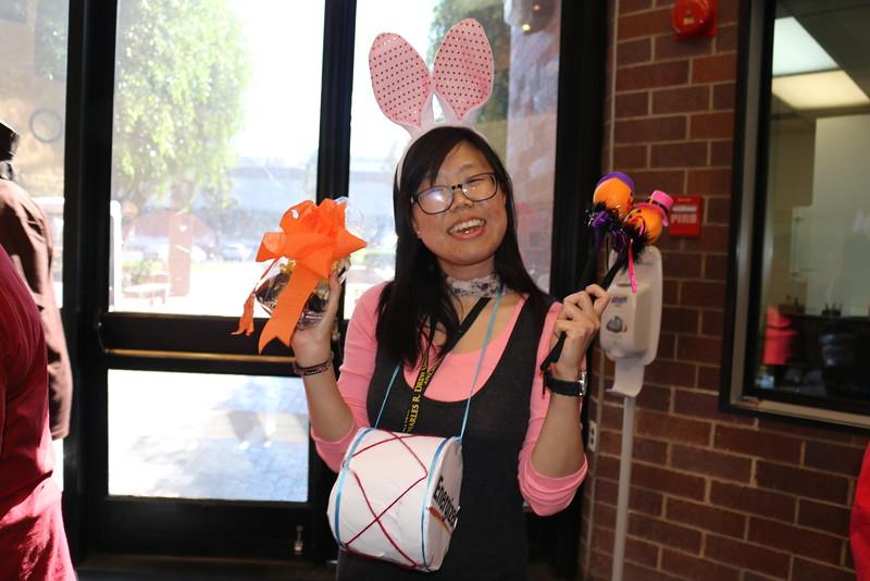 The Winner:  Juri Kim, a Research Associate in the Department of Research