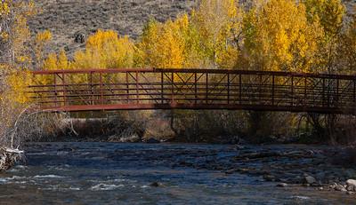 Footbridge photography