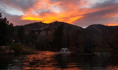 #60 Duck Pond Sunset