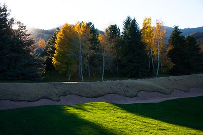 Fall colors at the base of Canyons Resort, Park City Utah