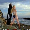 45surf sunset surf board swimsuit bikini hot pretty beautiful 176,.,.,.,.
