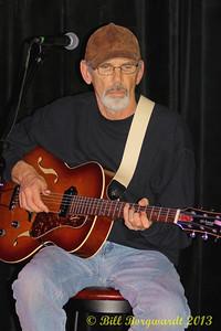 Laurence Pugh, guitar at Tuesday night jams at LBs