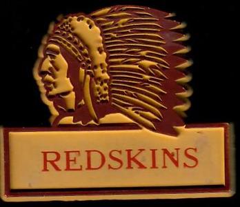 1970s Redskins Magnet