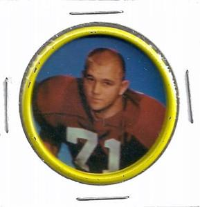 Andy Stynchula 1962 Salada Coins