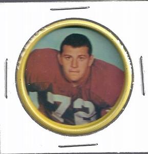 Joe Rutgens 1962 Salada Coins