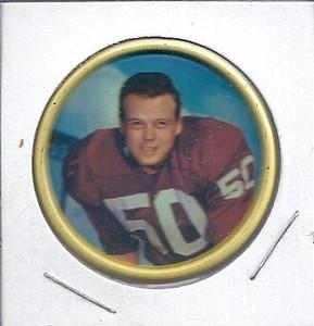 Fred Hageman 1962 Salada Coins