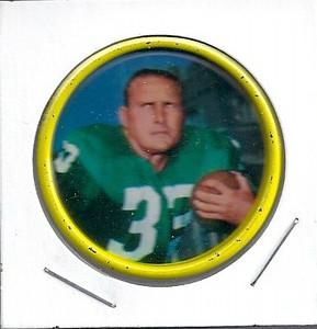 Billy Barnes 1962 Salada Coins