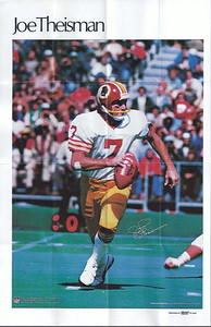 Joe Theismann 1978 Marketcom Mini-Posters
