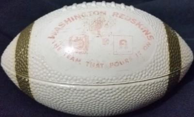 1970s Pepsi and Frito Lay Redskins Mini Football