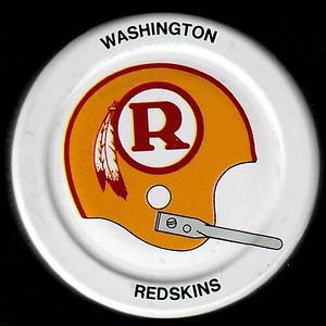 1970s Gatorade Redskins R Logo Helmet Caps