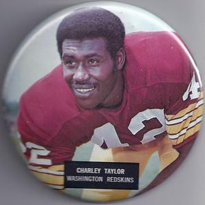 1973 NFLP Pin Charley Taylor