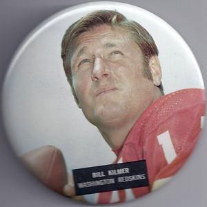 1973 NFLP Pin Billy Kilmer