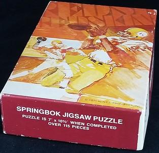 1971 Redskins Sprinbok Jigsaw Puzzle