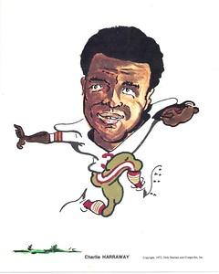 1972 Compu-Set Redskins Charlie Harraway