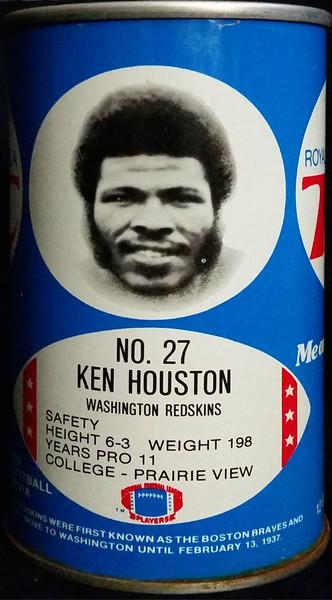 Ken Houston 1977 RC Cola