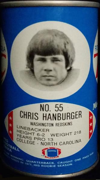 Chris Hanburger 1977 RC Cola