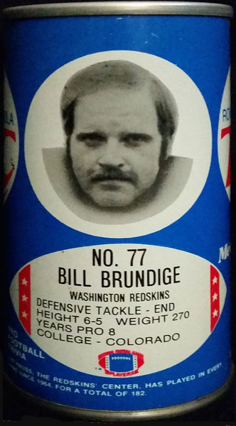 Bill Brundige 1977 RC Cola