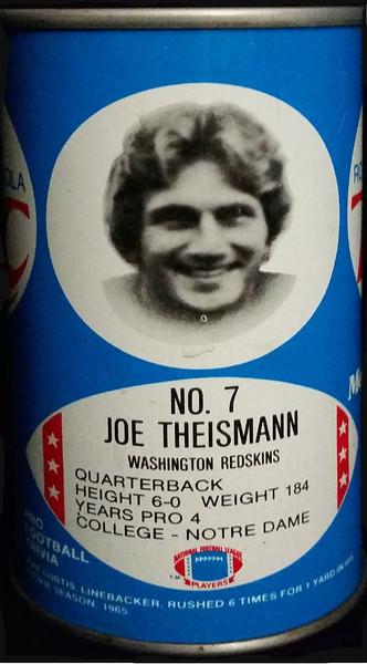 Joe Theismann 1977 RC Cola