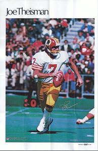 Joe Theismann 1978 Marketcom Mini-Posters