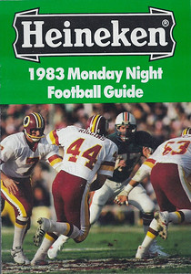 1983 Heineken Monday Night Football Guide