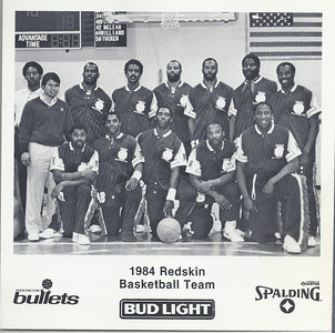 1984 Redskins Basketball Team Photo