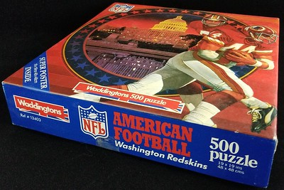 Redskins 1984 Waddingtons 500 Piece Jigsaw Puzzle