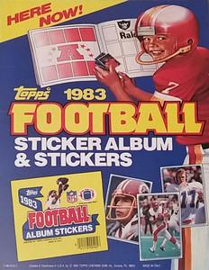 1983 Topps Sticker Promo Poster