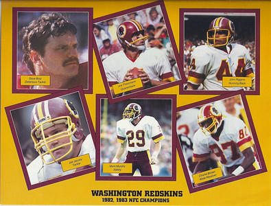 1984 NFL Super Fan Pack Sheets
