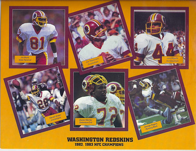 1985 NFL Super Fan Pack Sheet