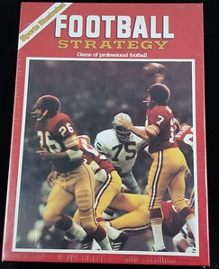 1980s Sports Illustrated Football Strategy Game.
