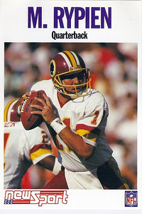 1992 Newsport Mark Rypien