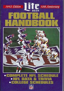 1992 Lite Beer Football Handbook
