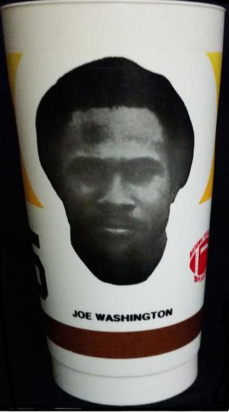 1982 NFLPA Cup Joe Washington