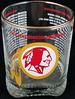 Redskins 1976 Glass