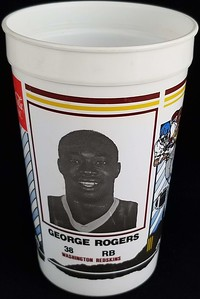 George Rogers 1986 Coca-Cola Football Fever Cup