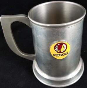 1960s Redskins Logo Pewter Mug