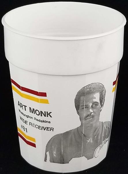 Art Monk 1992 Exxon MSA Cup