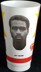 Art Monk 1982 NFLPA Cup