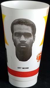 Art Monk 1982 NFLPA Cup