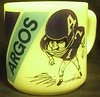 1972 Toronto Argonauts Coffee Mug w/ Joe Thiesmann