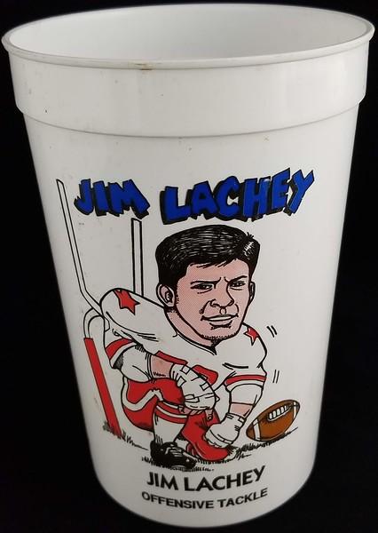 Jim Lachey 1991 7-Eleven Super Big Gulp Cup