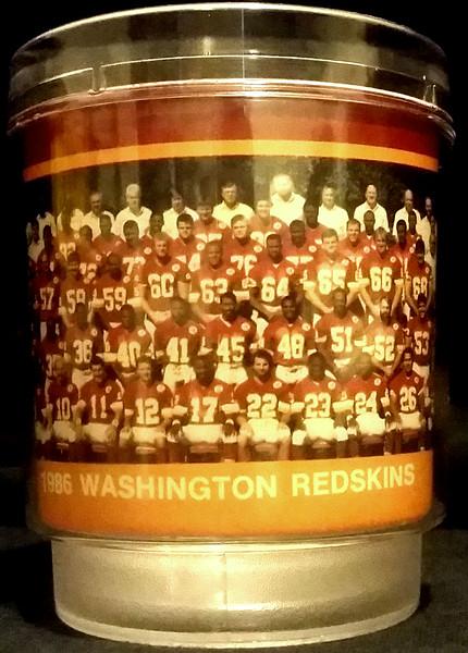 1986 Shell Oil Redskins Team Picture Mug