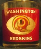 Redskins 1970's Houze Art Tumbler Glass