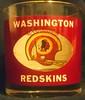 Redskins 1970's Houze Art Tumbler Glass