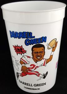 Darrell Green 1991 7-Eleven Super Big Gulp Cup