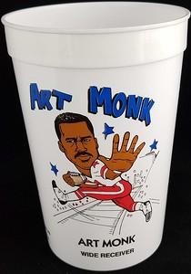 Art Monk 1991 7-Eleven Super Big Gulp Cup