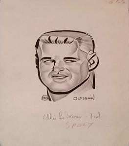 1950s Eddie LeBaron sketch