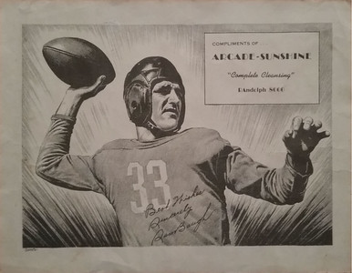 Sammy Baugh 1948 Arcade-Sunshine Laundry Premium