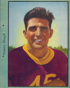 1938 Dixie Lids Premiums Sammy Baugh